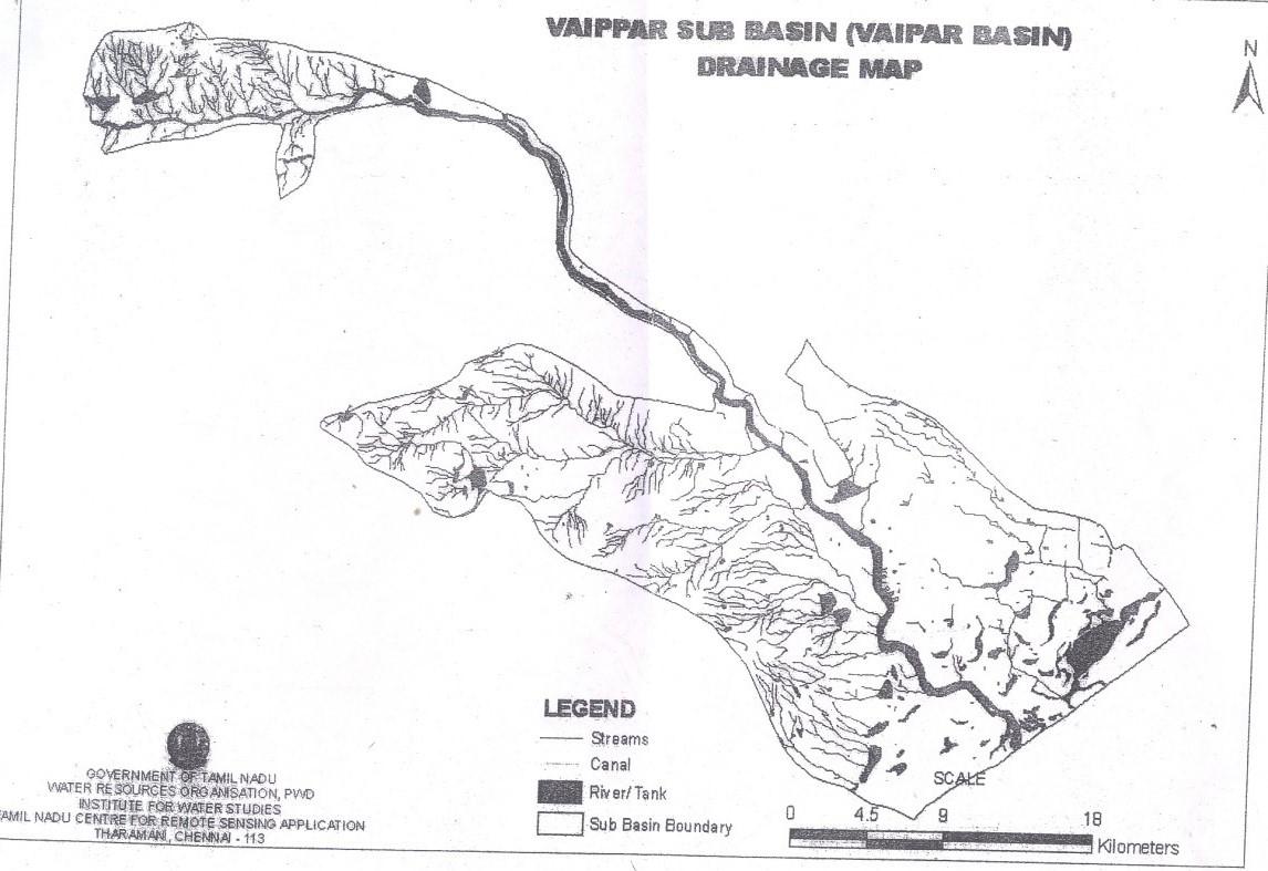TN-IAMWARM : Sub Basin : vaippar